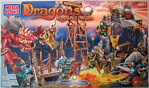 Mega Bloks Dragons Krystal Wars: Vorgan Stronghold (9891)