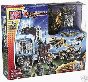 Mega Bloks Dragons: Wizard's Strong Box