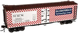 40' Wood Reefer - Ralston Purina Co.  (20002013)