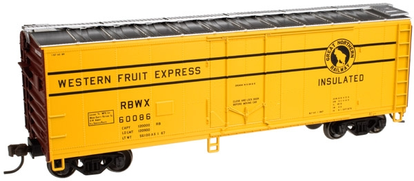 40' Plug Door Boxcar Early - Great Northern [RBWX] (20002027)