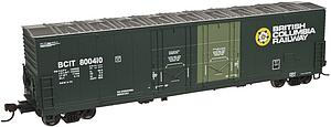 Evans Double Plug Door Boxcar - British Columbia Railway (20002450)