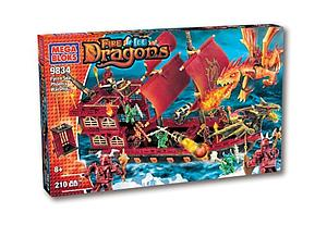 Mega Bloks Fire/Ice Dragons: Ryren Sea Phoenix (9834)