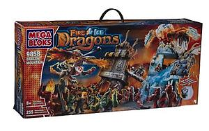 Mega Bloks Fire/Ice Dragons: Dragon Mountain (9858)