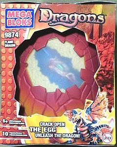 Mega Bloks Fire/Ice Dragons: Flame Dragon (9874)