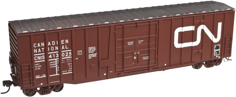 50' Plug Door Boxcar - Canadian National (20002680)
