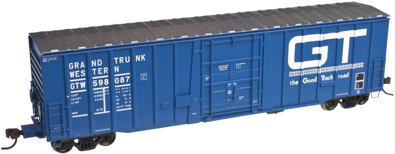 50' Plug Door Boxcar - Grand Trunk Western (20002682)