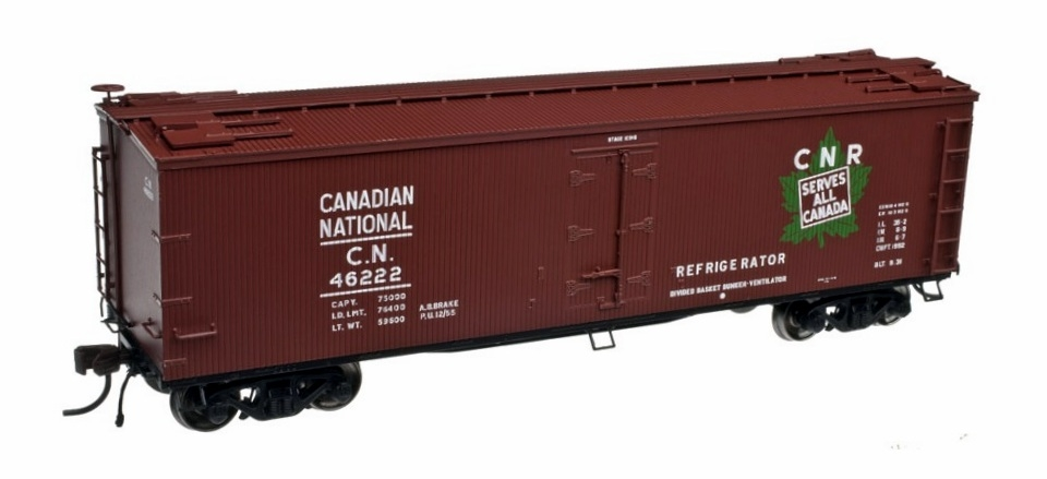 40' Wood Reefer- Canadian National  (20002716)