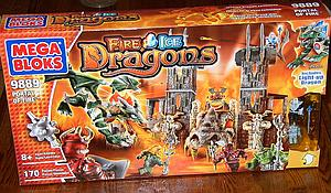 Mega Bloks Fire/Ice Dragons: Portal of Fire (9889)