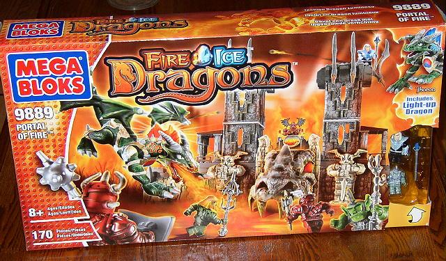 lego ice dragon