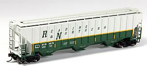 Thrall 4750 Covered Hopper - Reading Blue Mountain and Northern (20002896)