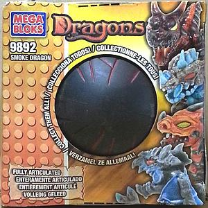 Mega Bloks Fire/Ice Dragons: Smoke Dragon (9892)