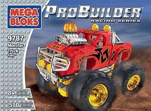 Mega Bloks Probuilder Racing Series: Monster Truck Fury (9787)