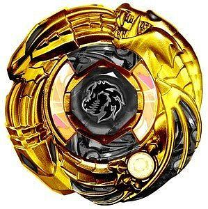 Beyblade Metal Fusion BBG-16 Gold Dark Knight Dragooon