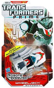 Transformers Prime Robots in Disguise Deluxe Class Wheeljack (Canadian Packaging)