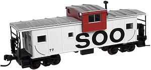 Extended Vision Caboose - Soo Line (50000991)