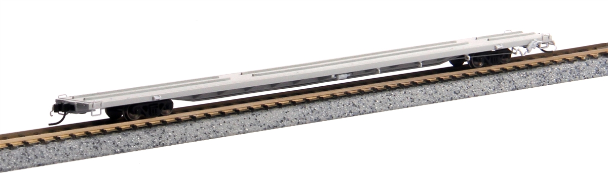 "89'4"" Flat Car - Undecorated [Mid End Hitches] (50001033)"