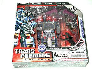 Transformers Prime Voyager Class: Soundwave (SDCC Exclusive)