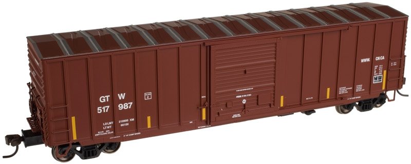 50' Precision Design Box Car - Canadian National [GTW] (50001289)