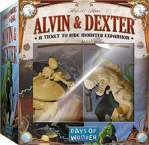 Ticket to Ride: Alvin & Dexter Expansion