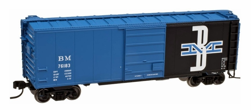 40' PS-1 Boxcar - Boston & Maine (50001622)