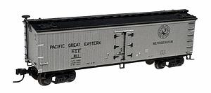 40' Wood Reefer - Pacific Great Eastern (50001755)