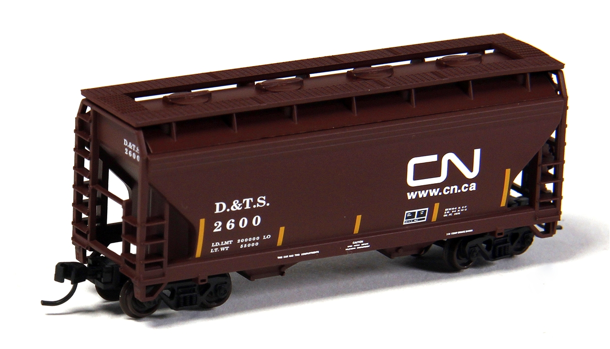 2-Bay Centerflow Hopper - Canadian National [DTS] (50001868)