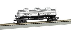 40' 3-Dome Tank Car, Carbide and Carbon Chemicals (17144)