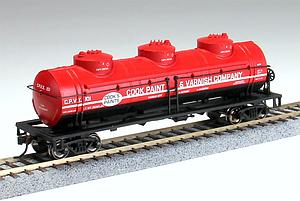 40' 3-Dome Tank Car - Cook Paint and Varnish Co. CPVX 101 (17145)