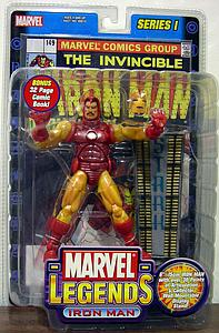 Marvel Legends Series 1: Iron Man (w/ Comic)