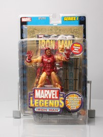Marvel Legends Series 1: Iron Man (w/ Poster)