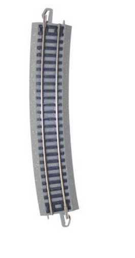 "19"" Radius Curved Track [50 Pieces] (44884)"