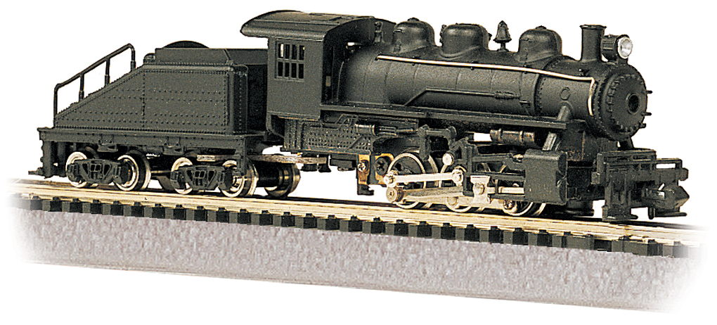 0-6-0 Switcher & Tender - Painted Unlettered (50598)