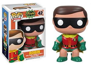 Pop! Heroes DC Vinyl Figure Classic Robin (1966) #42 (Retired)