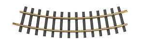 4' Diameter Curve - Brass Track [12 Pieces] (94653)