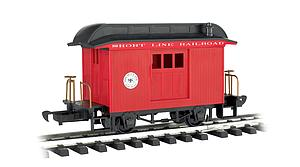 Baggage Short Line Railroad - Red With Black Roof (97088)