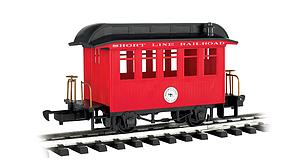 Coach Short Line Railroad - Red With Black Roof (97089)
