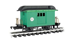 Baggage Short Line Railroad - Green With Black Roof (97092)