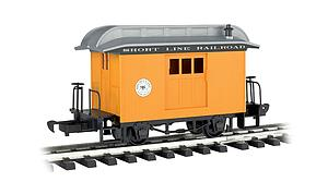 Baggage Short Line Railroad - Yellow With Silver Roof (97096)