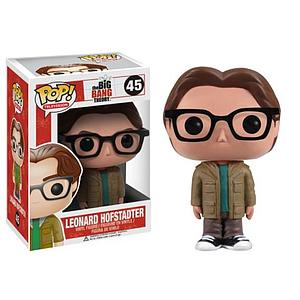 Pop! Television The Big Bang Theory Vinyl Figure Leonard Hofstadter #45 (Vaulted)