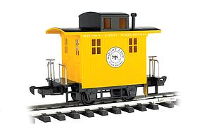 Caboose Short Line Railroad - Yellow With Black Roof (98087)