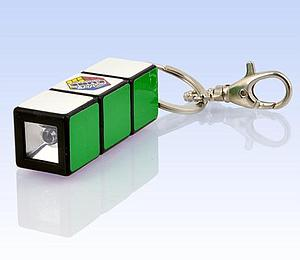 Rubik's Mini Flashlight Keychain