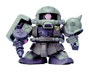 Gundam SD BB Model Kit: #218 MS-06F Zaku II Gundam