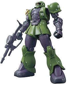 Gundam High Grade Gundam The Origin 1/144 Scale Model Kit: #009 MS-05 Zaku I (Denim/Slender)