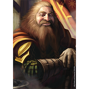 The Lord of the Rings Gimli Card Sleeves Board Game Size: Standard Card Game