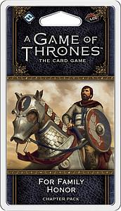 A Game of Thrones: The Card Game - For Family Honor