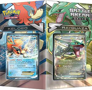 Pokemon Trading Card Game Battle Arena Decks: Keldeo vs Rayquaza