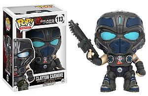 Pop! Games Gears of War Vinyl Figure Clayton Carmine #113