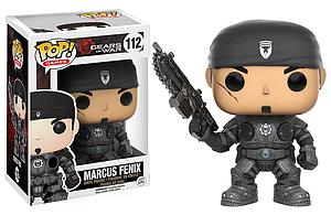 Pop! Games Gears of War Vinyl Figure Marcus Fenix #112