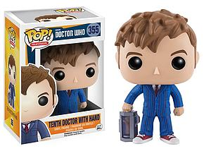 Pop! Television Doctor Who Vinyl Figure Tenth Doctor with Hand #355 (Vaulted)