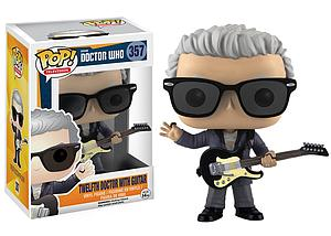 Pop! Television Doctor Who Vinyl Figure 12th Doctor with Guitar #357 (Retired)